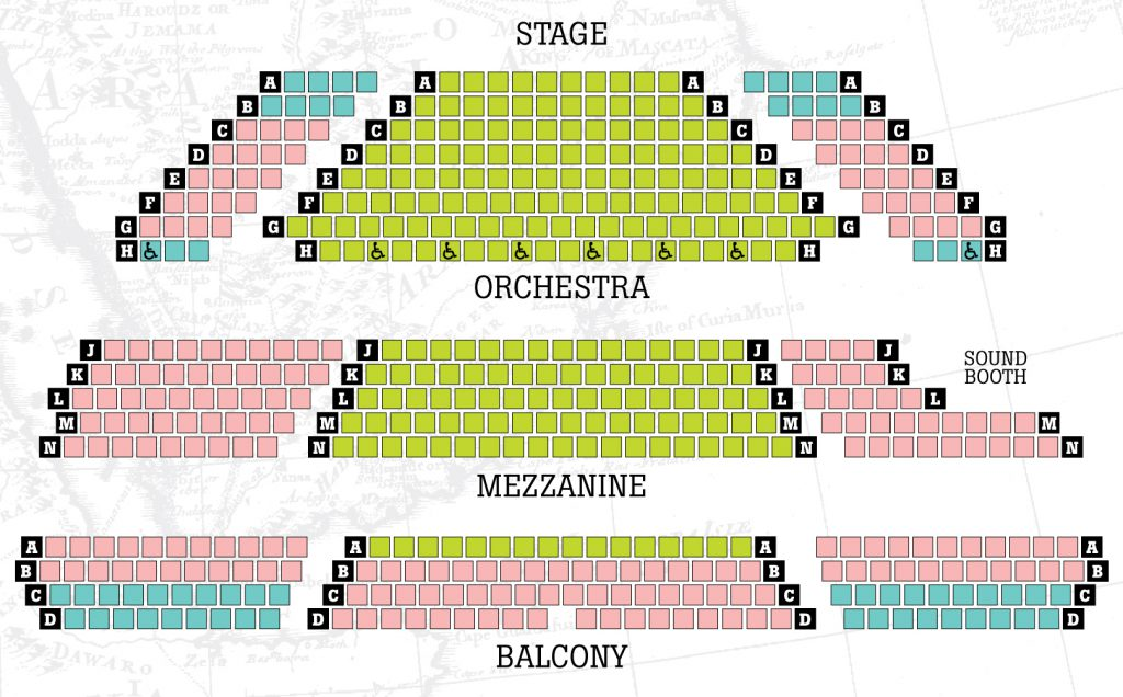 Georgia Ensemble Theatre  U2013 Seating Diagram